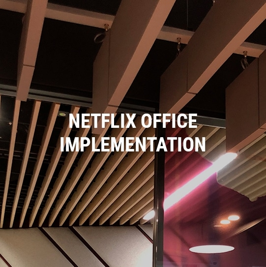 Netflix Offices Implementation Project